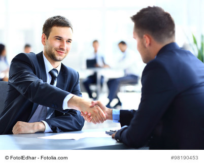 interviewing candidate